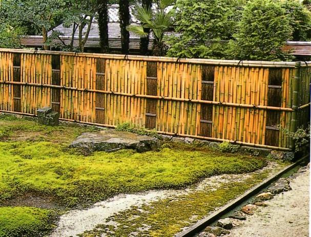 Les clôtures traditionnelles japonaises (2) | Jardins du ...