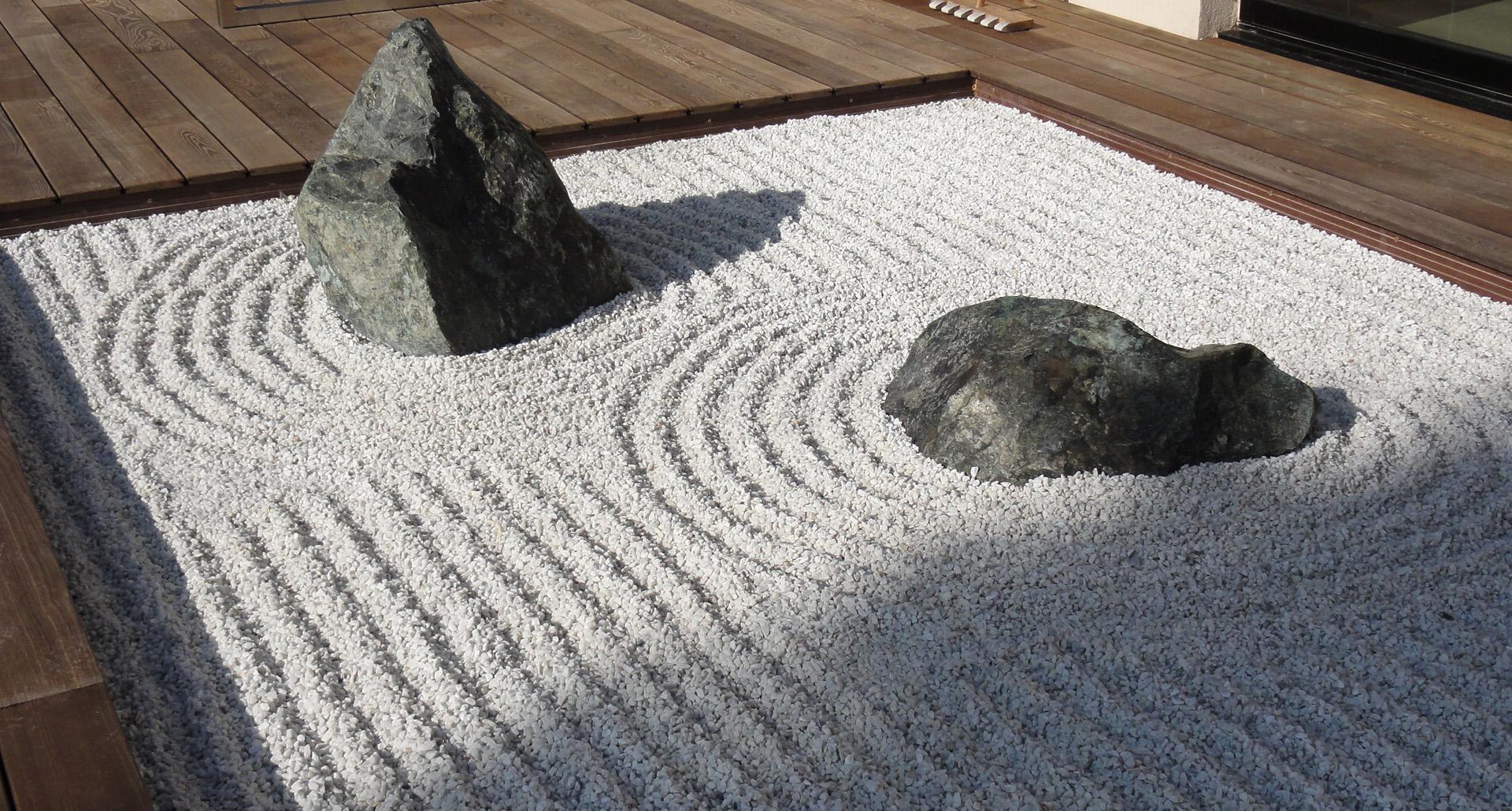 jardin zen pictures. Black Bedroom Furniture Sets. Home Design Ideas