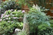 Paris XVI - Jardin japonais en fin d'été