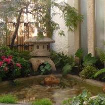 Paris XVI : Esprit japonais autour d'un bassin en terrasse