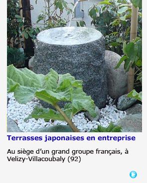 Terrasses japonaises en entreprise
